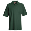 Emerald: Red Kap - Men's Cotton/Polyester Blend Pique Knit Shirt