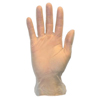 Safety-zone-products: Safety Zone - Powder Free Vinyl Gloves - Large