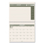 At A Glance AT-A-GLANCE® Recycled Monthly Desk/Wall Calendar AAGPM170G28