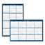 House Of Doolittle House of Doolittle™ Poster Style Reversible/Erasable Yearly Wall Calendar HOD396