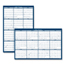 House Of Doolittle House of Doolittle® Poster Style Reversible/Erasable Yearly Wall Calendar HOD3960