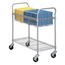 Safco Heavy-Duty Steel Wire Mail Cart SFC5236GR
